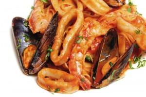 Seafood mixed saute