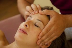 migraines head massage
