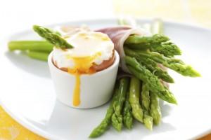 breakfast detoxing asparagus