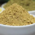 Henna and sandalwood powder
