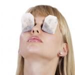 Tea bag eye therapy
