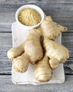 Spicy ginger root