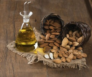 Almonds and almond oil